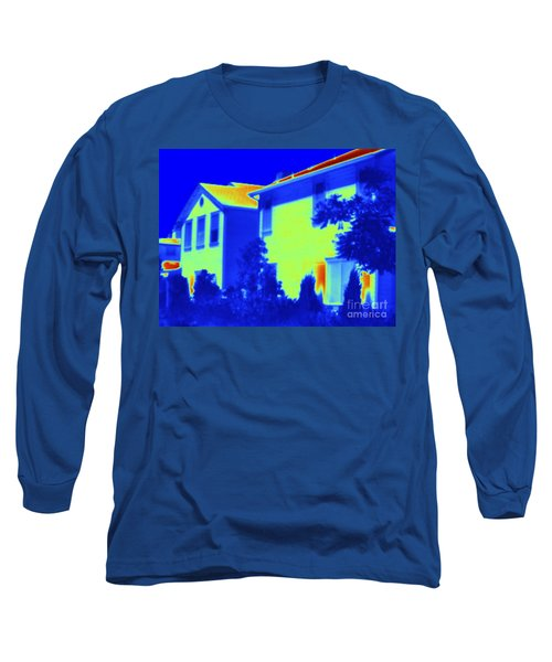Thermogram Of A House Long Sleeve T-Shirt