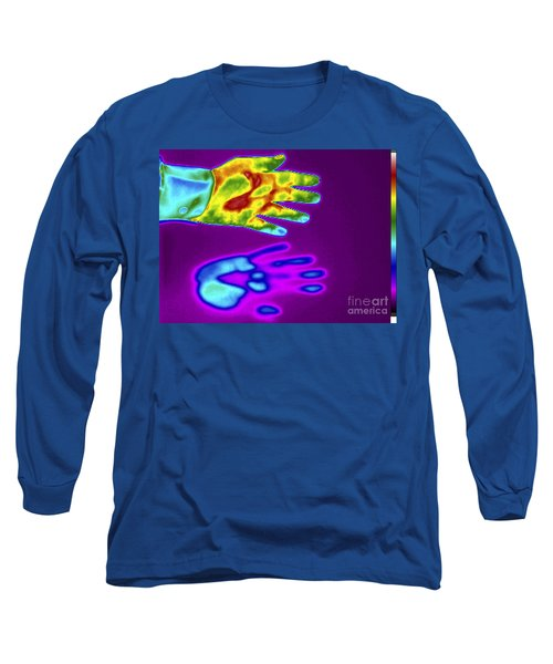 Thermogram Of A Thermal Shadow Long Sleeve T-Shirt