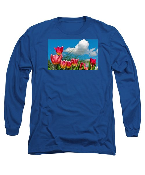 Flower 8 Long Sleeve T-Shirt
