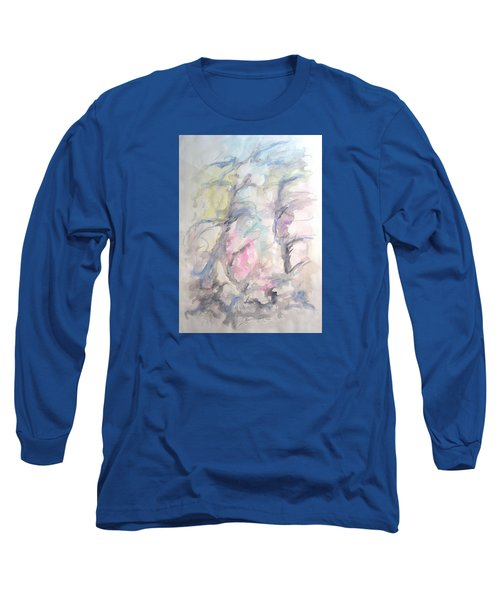 Two Trees In The Wind Long Sleeve T-Shirt