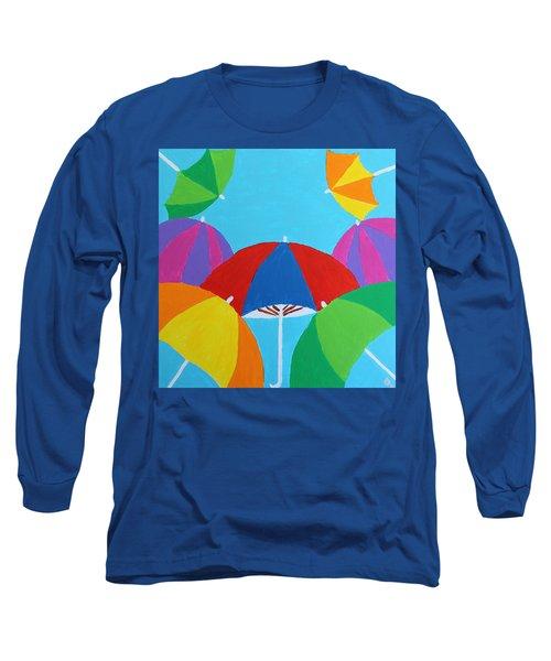 Umbrellas Long Sleeve T-Shirt
