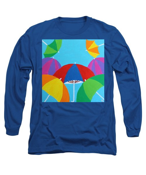 Umbrellas Long Sleeve T-Shirt
