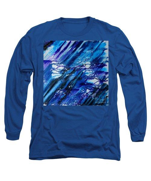 Blue Wind Long Sleeve T-Shirt