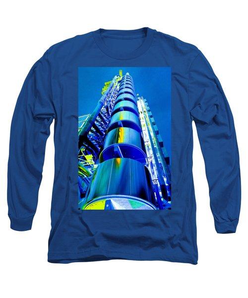 Lloyd's Building London Art Long Sleeve T-Shirt