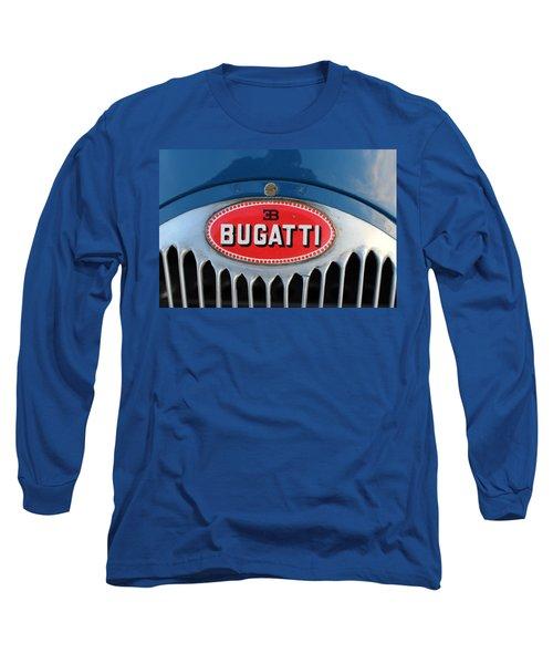 1930's Ettore Bugatti Long Sleeve T-Shirt