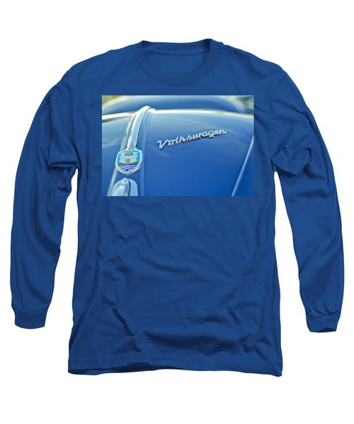 1956 Volkswagen Vw Bug Hood Emblem Long Sleeve T-Shirt