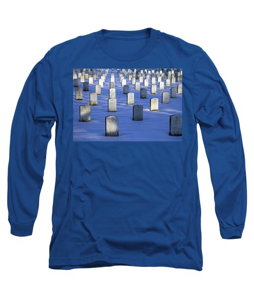Long Sleeve T-Shirt featuring the photograph Beneath The Snow by Cora Wandel
