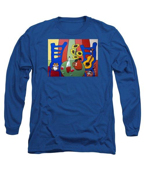 Oreo Long Sleeve T-Shirt by Barbara McMahon