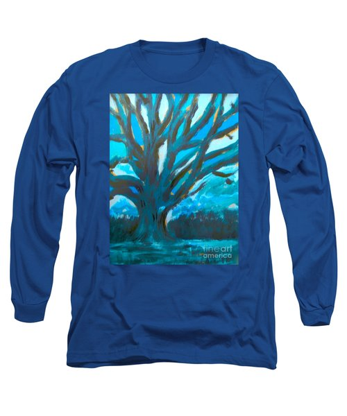 The Blue Tree Long Sleeve T-Shirt
