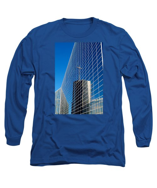 Long Sleeve T-Shirt featuring the photograph The Crystal Cathedral by Duncan Selby