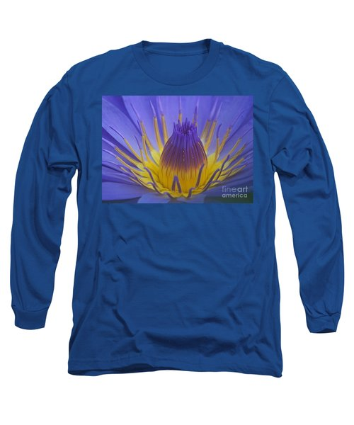 Long Sleeve T-Shirt featuring the photograph Tropic Water Lily 16 by Rudi Prott