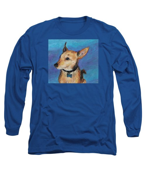 Zack Long Sleeve T-Shirt by Jeanne Fischer