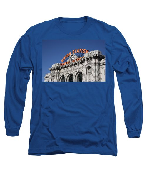 Denver - Union Station Long Sleeve T-Shirt