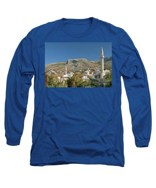 Mostar In Bosnia Herzegovina Long Sleeve T-Shirt