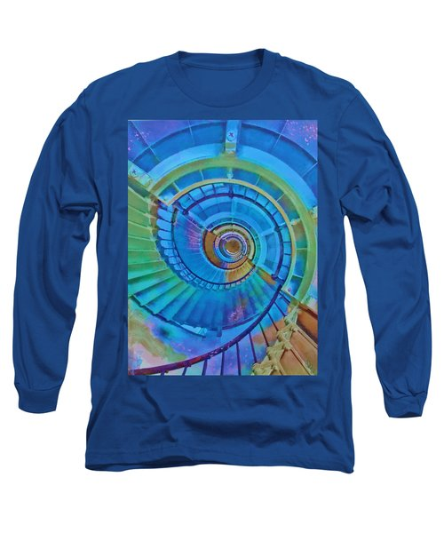 Stairway To Lighthouse Heaven Long Sleeve T-Shirt