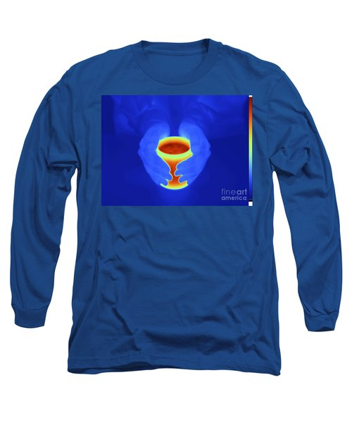Thermogram Of A Mug Long Sleeve T-Shirt
