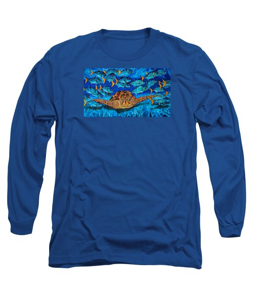 Green Sea Turtle Long Sleeve T-Shirt