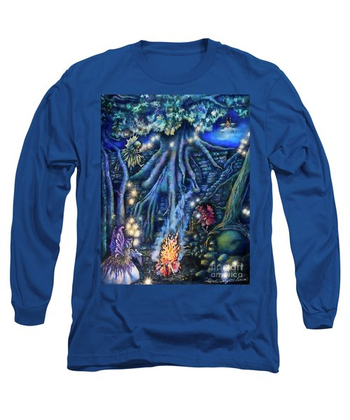 Flutter Flies Long Sleeve T-Shirt