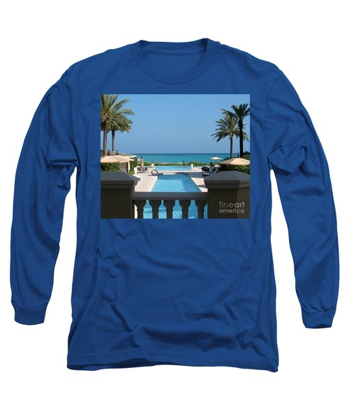 Long Sleeve T-Shirt featuring the photograph A Beautiful View by Patti Whitten