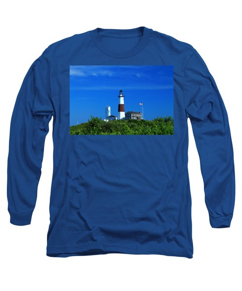 A Clear Day Long Sleeve T-Shirt by Catie Canetti