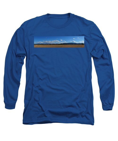 A June Panorama In Southern Oregon Long Sleeve T-Shirt