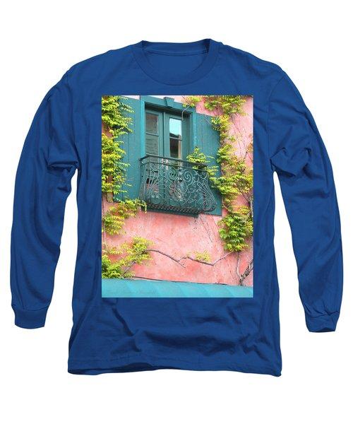 Room With A View Long Sleeve T-Shirt by Brooks Garten Hauschild