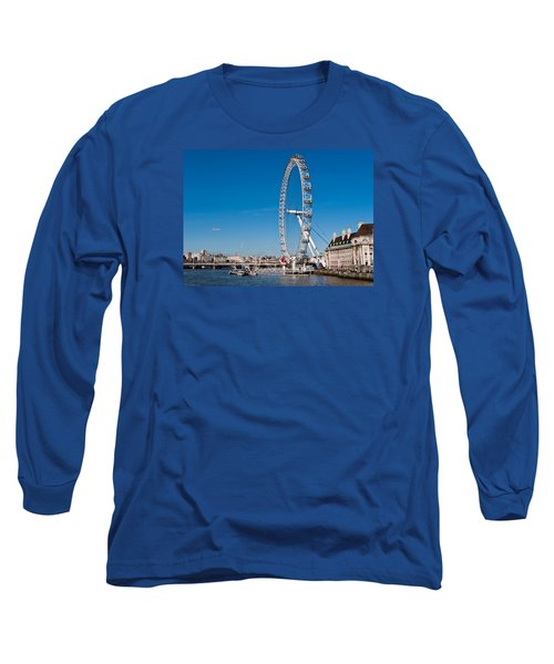 A View Of The London Eye Long Sleeve T-Shirt