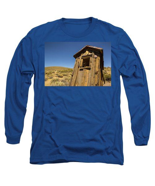 Abandoned Outhouse Long Sleeve T-Shirt