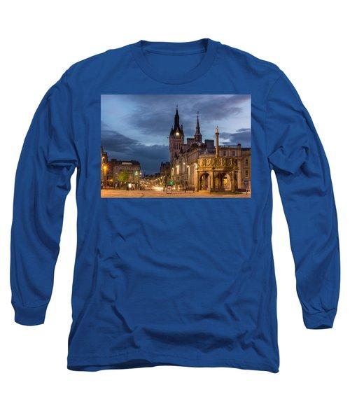 Aberdeen At Night Long Sleeve T-Shirt