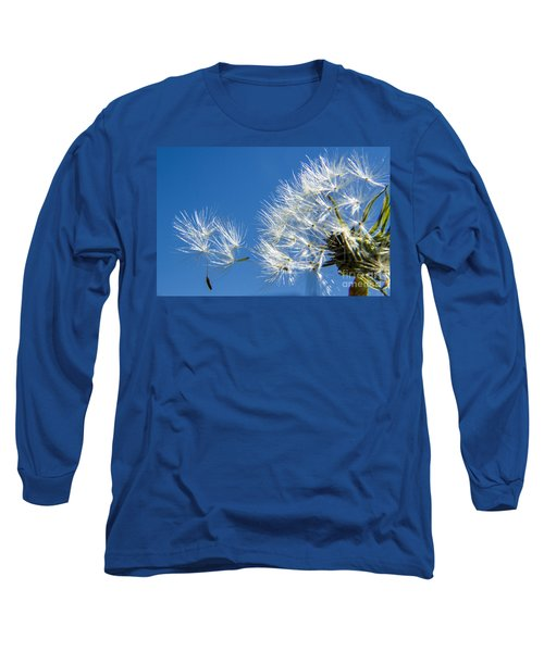 About To Leave - Dandelion Seeds Long Sleeve T-Shirt
