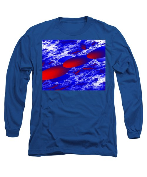 Long Sleeve T-Shirt featuring the digital art Fly Away by Hai Pham
