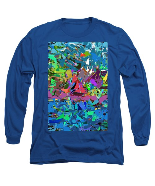 Long Sleeve T-Shirt featuring the digital art Abstract 011515 by David Lane