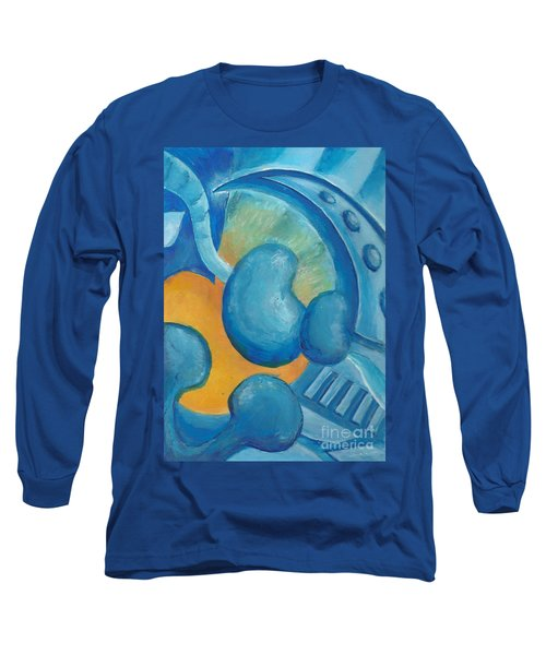 Abstract Color Study Long Sleeve T-Shirt by Samantha Geernaert