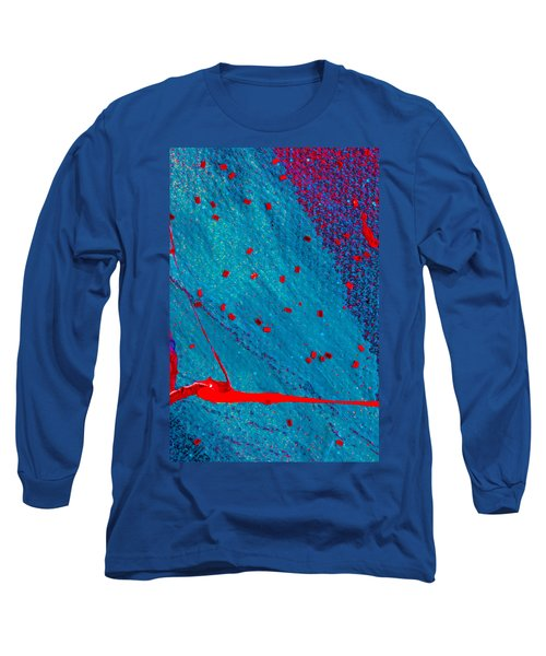 Abstract Original Artwork One Hundred Phoenixes Untitled Number Eleven Long Sleeve T-Shirt
