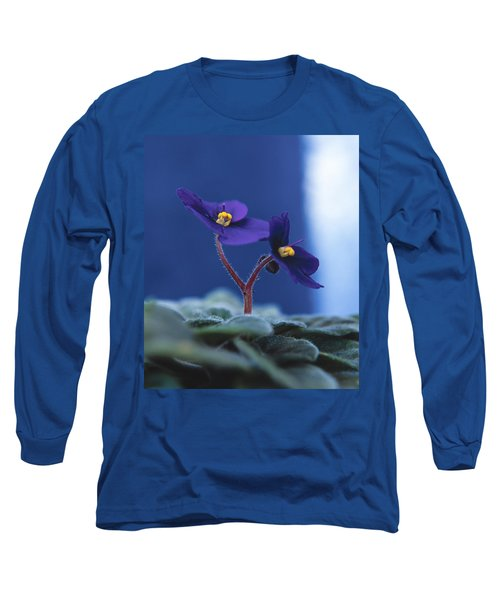African Violet Long Sleeve T-Shirt by Lana Enderle