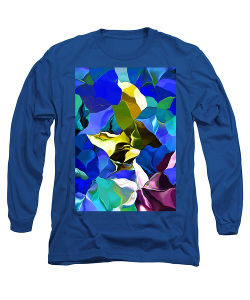 Long Sleeve T-Shirt featuring the digital art Afternoon Doodle 020215 by David Lane
