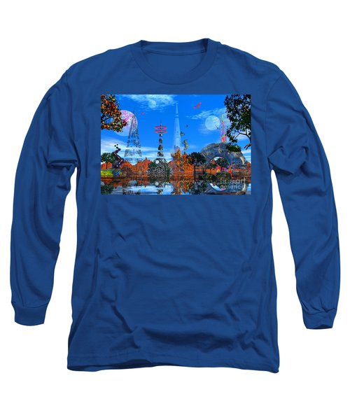 Akrubaar Long Sleeve T-Shirt by Mark Blauhoefer