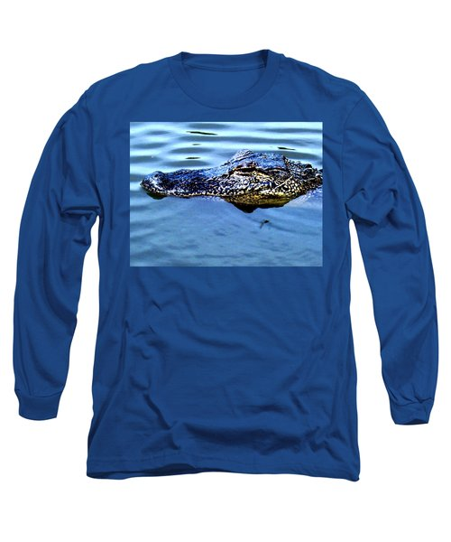 Alligator With Spider Long Sleeve T-Shirt