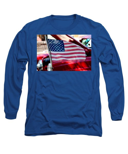 Long Sleeve T-Shirt featuring the photograph American Dream by Toni Hopper