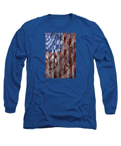 American Sacrifice Long Sleeve T-Shirt by DJ Florek