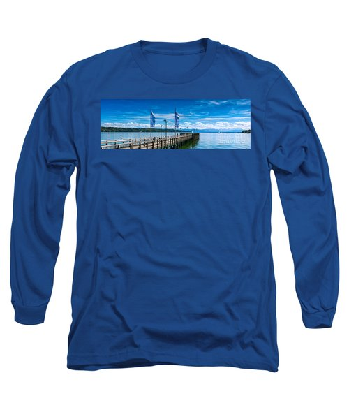 Ammersee - Lake In Bavaria Long Sleeve T-Shirt by Juergen Klust