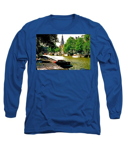Long Sleeve T-Shirt featuring the photograph Amsterdam by Ira Shander