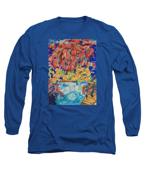 An Autumn Floral Long Sleeve T-Shirt