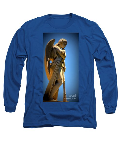 Angel Watching Long Sleeve T-Shirt