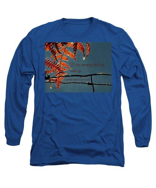 Another Chance Long Sleeve T-Shirt by Micki Findlay