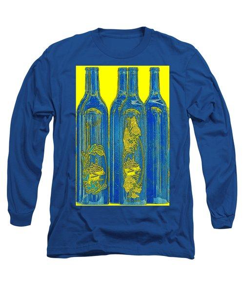 Antibes Blue Bottles Long Sleeve T-Shirt