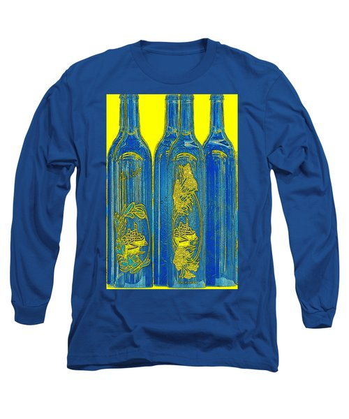 Antibes Blue Bottles Long Sleeve T-Shirt