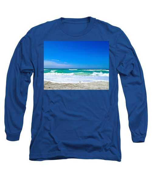 Aqua Surf Long Sleeve T-Shirt