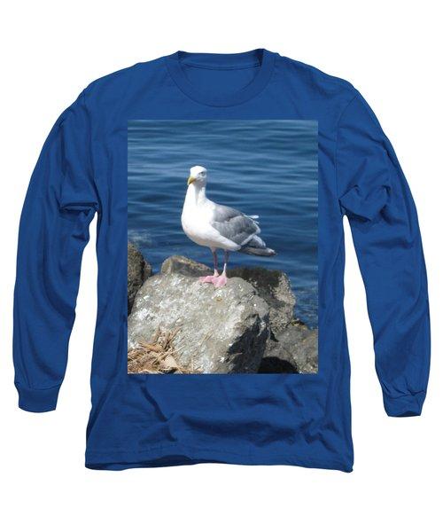 Attitude Long Sleeve T-Shirt by David Trotter