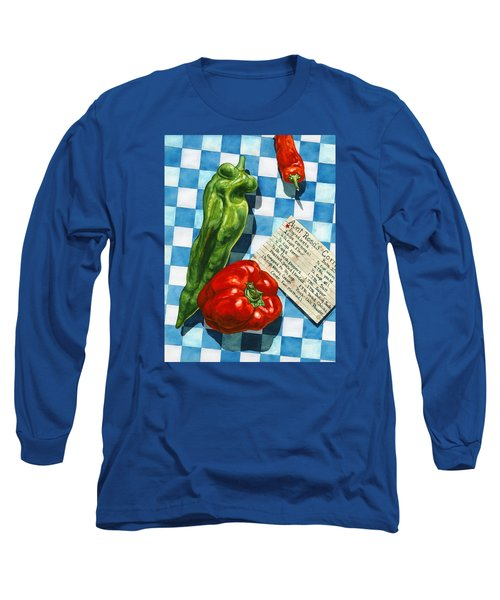 Aunt Rosa's Cornbread Long Sleeve T-Shirt by Lynda Hoffman-Snodgrass